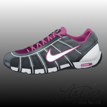 NIKE AIR ZOOM FENCER WEIß/ PINK FIRE