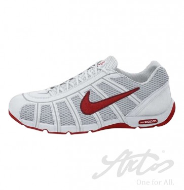 NIKE AIR ZOOM FENCER - WEISS/ ROT