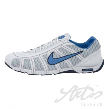 NIKE AIR ZOOM FENCER - WEISS/ HELLBLAU