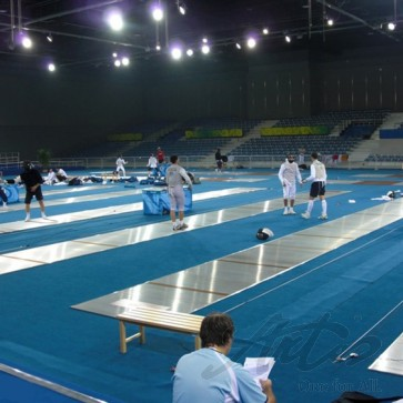 ALU FENCING PISTES - OLYMPIC GAMES BEIJING 2008