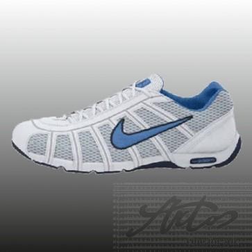 NIKE AIR ZOOM FENCER - WHITE/LIGHT BLUE