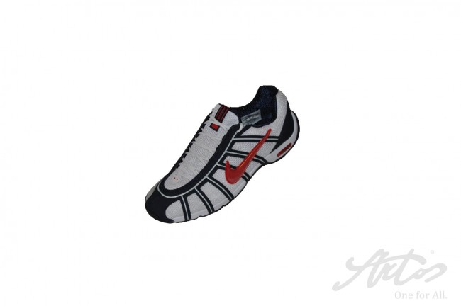 aeef1d222f3 Nike Air Zoom Fencing Shoes Obsidian Game Red White - Style Guru ...