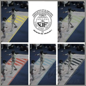 ARTOS FENCING PISTE - APPROVED AND PATENTED