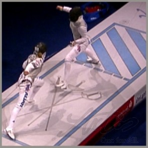 FINAL-FENCING PISTE; APPROVED AND PATENTED
