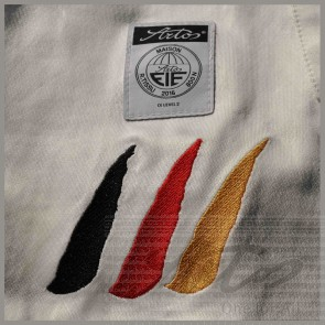 EMBROIDERED NATIONS LOGO FOR FENCING TROUSERS
