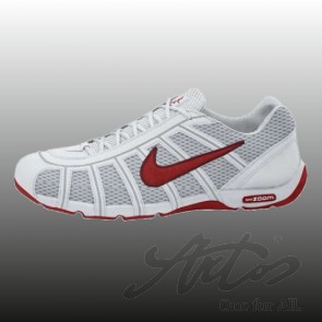 NIKE AIR ZOOM FENCER - WHITE/SPORT RED