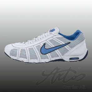 NIKE AIR ZOOM FENCER - WHITE/LIGHT BLUE