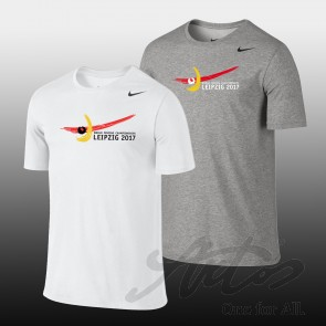 NIKE UNISEX EVENT SHIRT FOR WORLD FENCING CHAMPIONSHIPS 2017 WITH OFFICIAL LOGO AND NIKE SWOOSH