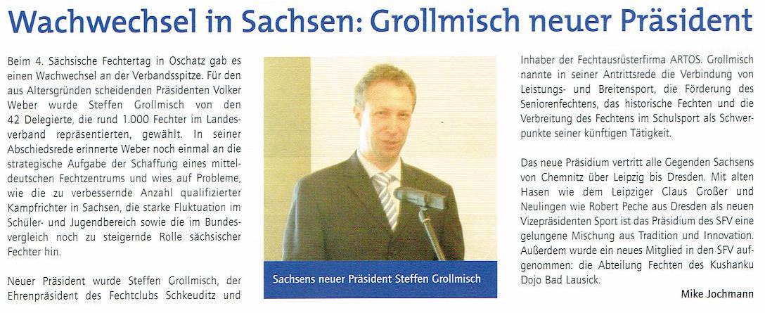 STEFFEN GROLLMISCH - DER FUNKTIONÄR