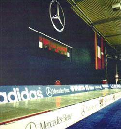 ARTOS 1995 - INSTALLATION OLYMPIASTÜTZPUNKT TAUBERBISCHOFSHEIM