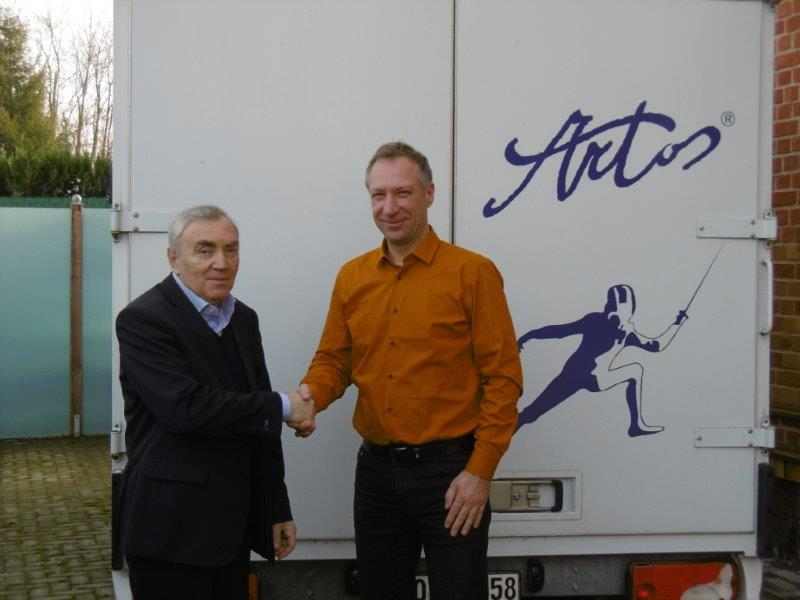 ARTOS 2015 - VISIT OF THE PRESIDENT OF THE SEMI-COMMISSION, SEMEN RIKHTMAN (FIE)